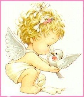 Blonder~Engel