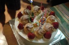うちなんちゅ IN クルネーガラ-クリスマスケーキ