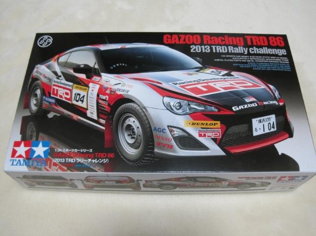 タミヤ GAZOO Racing TRD 86(2013 TRD ラリーチャレンジ)