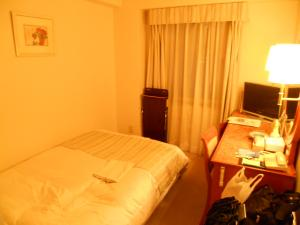 今日の宿、岩国シティビューホテル/Today's accommodation 'Iwakuni city view hotel'