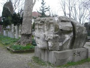 国立考古学博物館 メドゥーサの石像