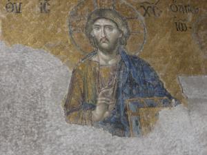 アヤソフィア キリストのモザイク