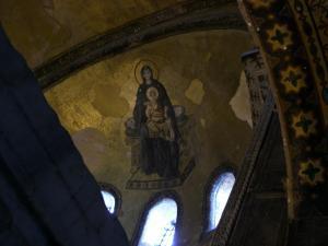 アヤソフィア 天井のモザイク