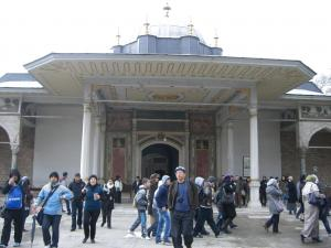 トプカピ宮殿の入口