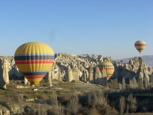 カッパドキアと気球