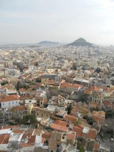 展望台から見たアテネの街並み