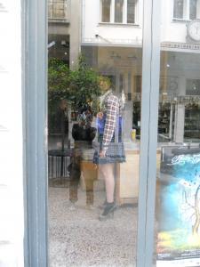 街で見かけたモデルさん