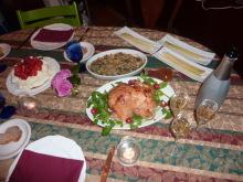 Hitomi Gondoのブログ-2009年冬の食卓