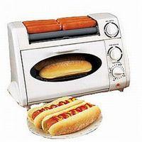 Party Maker Oven Hot Dog Griller Rotisserie