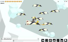 ペンギンがいっぱい。