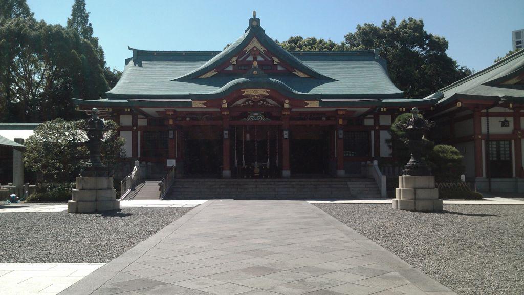 日枝神社20120821