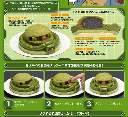 ザクケーキ02
