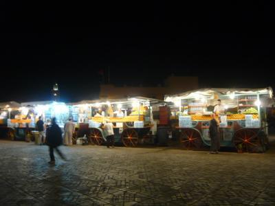 モロッコ・マラケシュ「ジャマ・エル・フナ広場」3