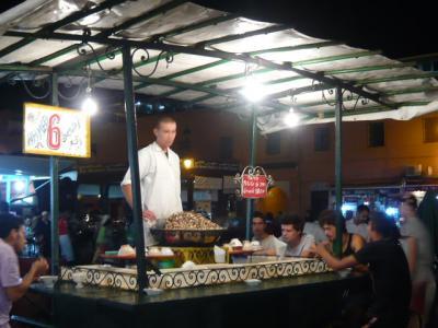 モロッコ・マラケシュ「ジャマ・エル・フナ広場」6