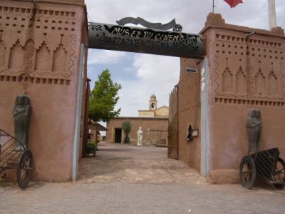 モロッコ・砂漠ツアーのランチ(1日目)3