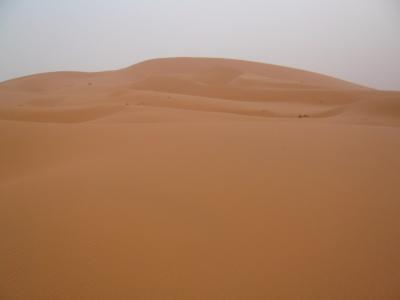 モロッコ「サハラ砂漠(メルズーガ)のテント」3