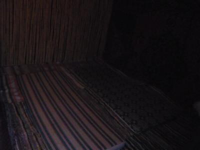 モロッコ「サハラ砂漠(メルズーガ)のテント」10