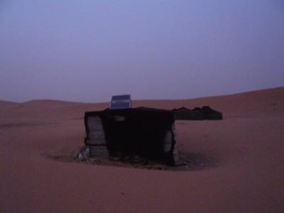 モロッコ「サハラ砂漠(メルズーガ)のテント」8
