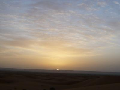 モロッコ「サハラ砂漠(メルズーガ)のテント」15