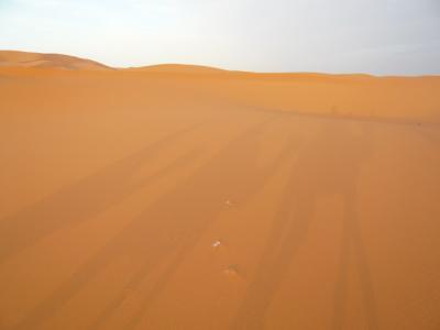 モロッコ「サハラ砂漠(メルズーガ)のテント」16