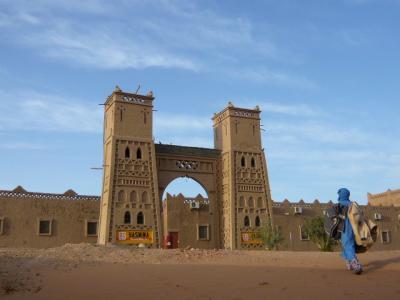 モロッコ・メルゾーガ「Hotel Yasmina」1