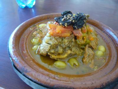 モロッコ・砂漠ツアーのランチ(3日目)7