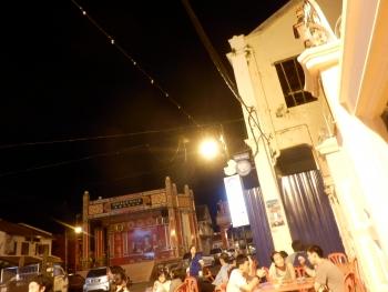マラッカ:チャイナタウンのラクサとアイス・カチャン4