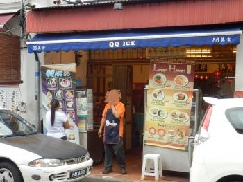 マラッカ:チャイナタウンのラクサとアイス・カチャン10