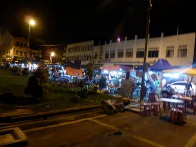 マラッカ「Pasar Malam Taman Melaka Baru」1