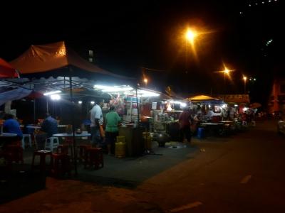 マラッカ「Pasar Malam Taman Melaka Baru」2