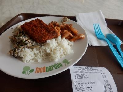 クアラルンプール「food garden @LCCT」5