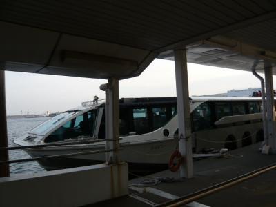 水上バス(お台場~日の出桟橋)1