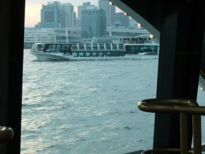 水上バス(お台場~日の出桟橋)6