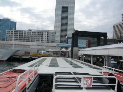 水上バス(お台場~日の出桟橋)7