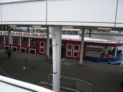 水上バス(お台場~日の出桟橋)8