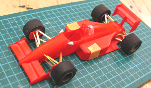 エレール 1/43 フェラーリF188