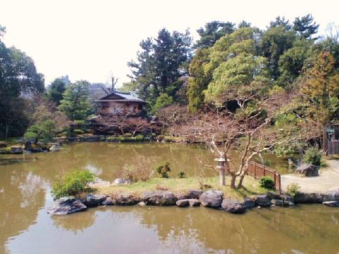 旧九条家庭園