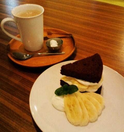 バナナケーキセット