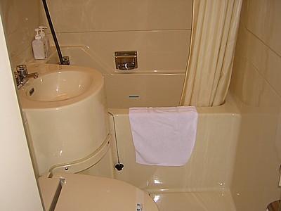 サニーストンホテル新大阪 浴室