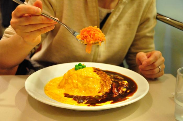Brahms-rice omlet