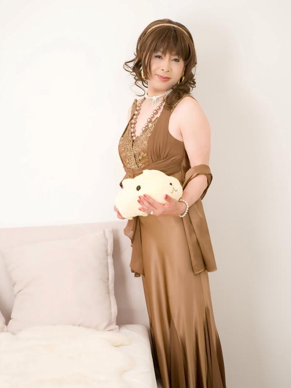 080505ブラウンロングドレス(3)