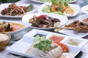 シンガポール料理の数々
