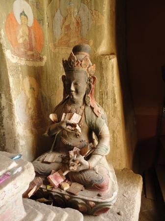 小銭持ちな仏像
