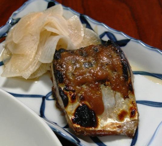 110219 サバ柚味噌焼き W