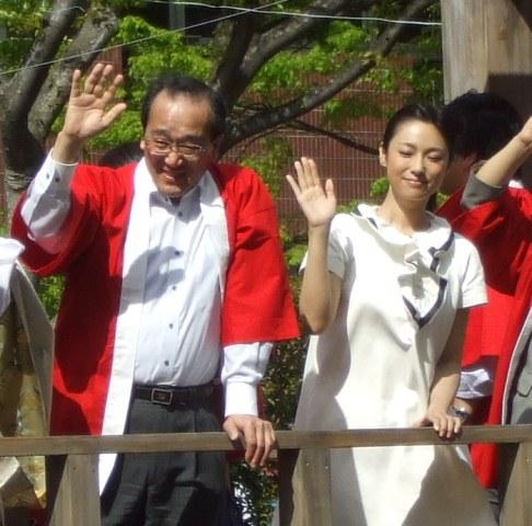 DSCF1889 深キョンと松井市長 W