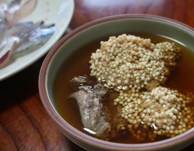 IMG_0727 ダツ 卵と肝煮 W