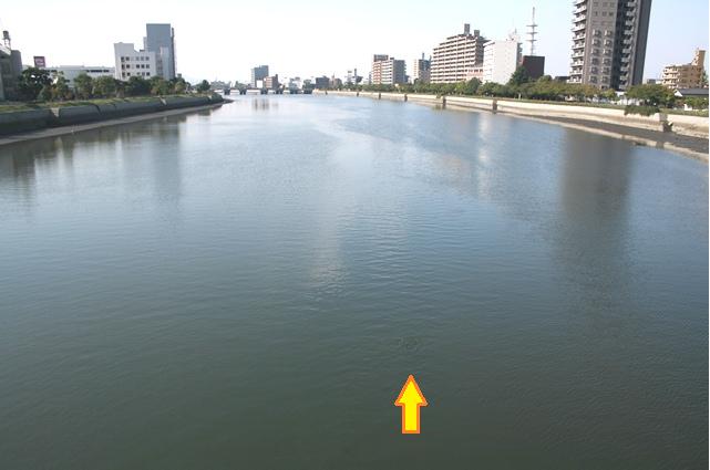 川面の波立ち