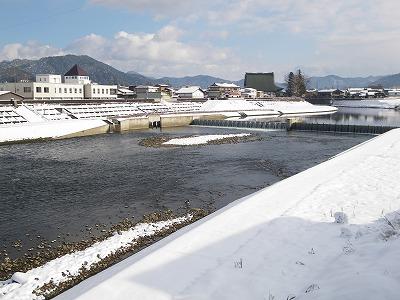 冬の古川町