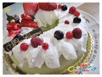 クリスマス・アイスケーキ