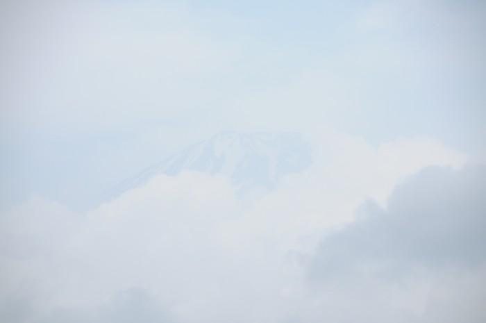 7331かすかに富士山